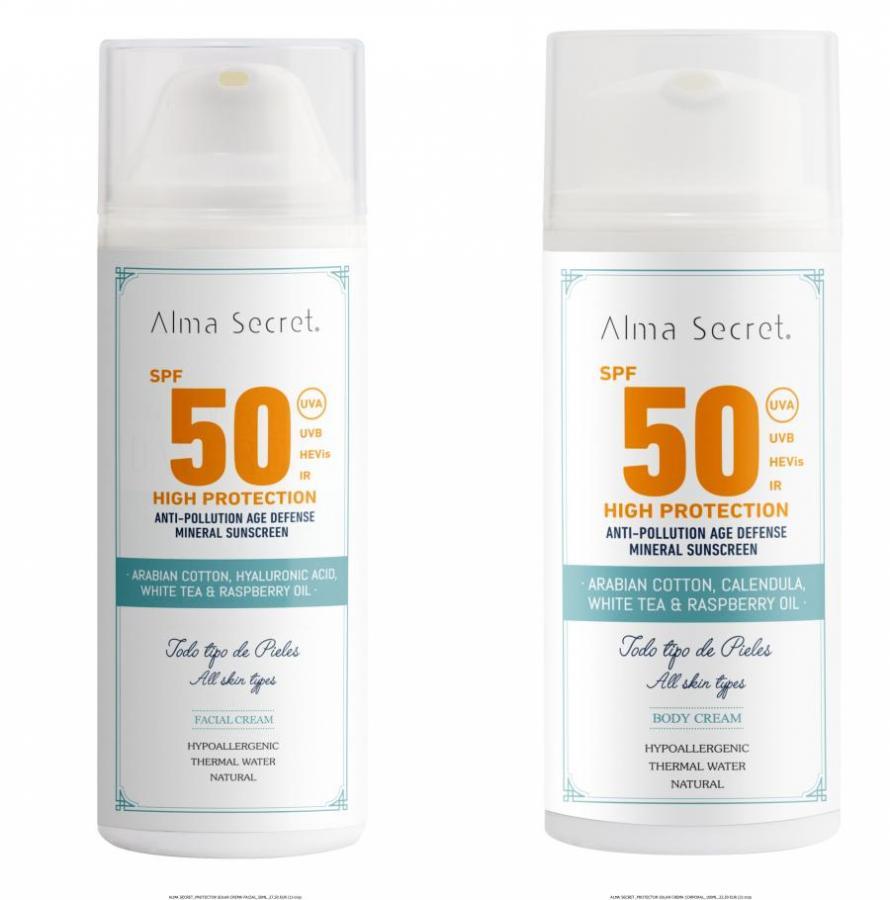 Filtros físicos para proteger tu piel