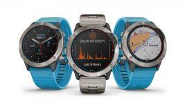 Garmin presenta quatix® 6X Solar, el primer reloj náutico con carga solar