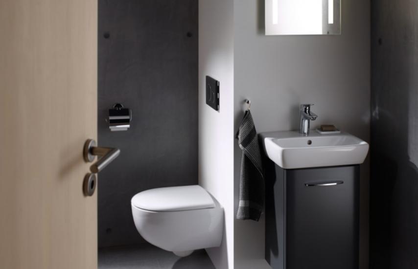 Geberit lanza su colección más clásica adaptada a baños pequeños y a personas con movilidad reducida