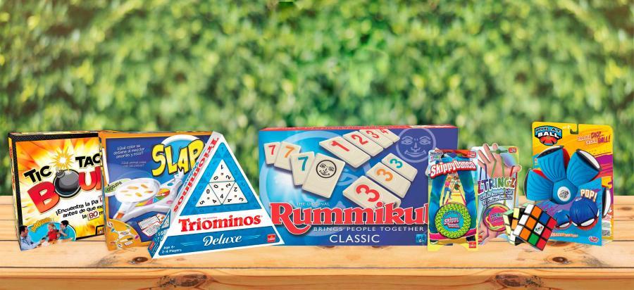 7 juegos para disfrutar en familia o con amigos