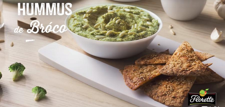 Recetas saludables: Hummus de brocoli