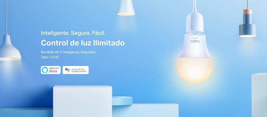 TP-Link lanza Tapo L510E, la bombilla LED inteligente
