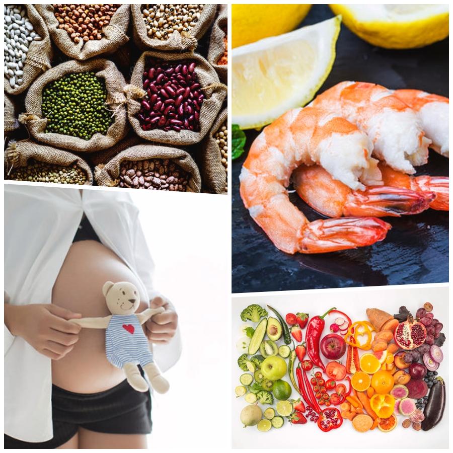 Cómo una alimentación saludable puede ayudar a quedarse embarazada