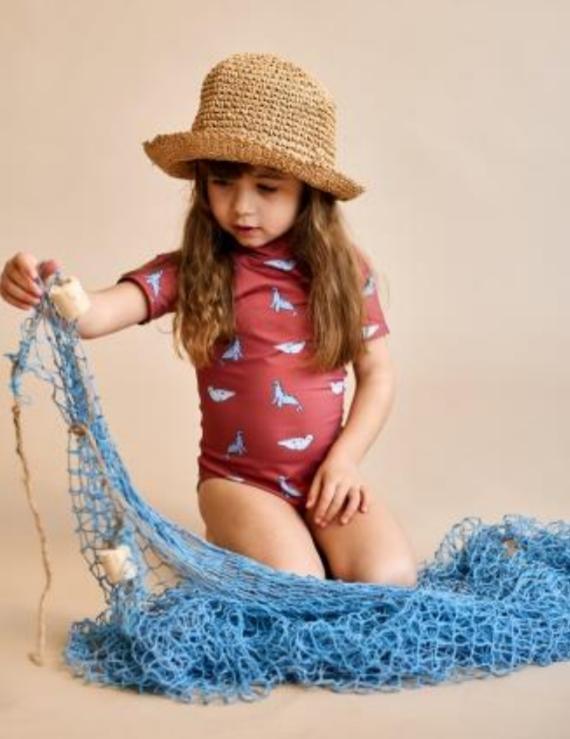 ÉLISE ET SARDINE, o como protección solar y sostenibilidad se unen en una marca de moda infantil