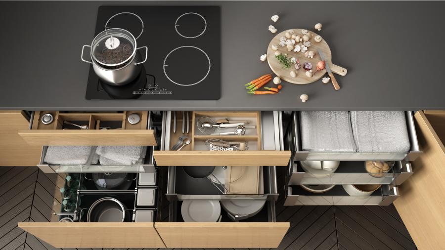 4 pasos fáciles para organizar tu cocina y optimizar tu espacio
