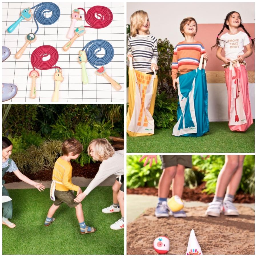 Lilliputiens tiene una nueva colección de juguetes que promueve el ejercicio