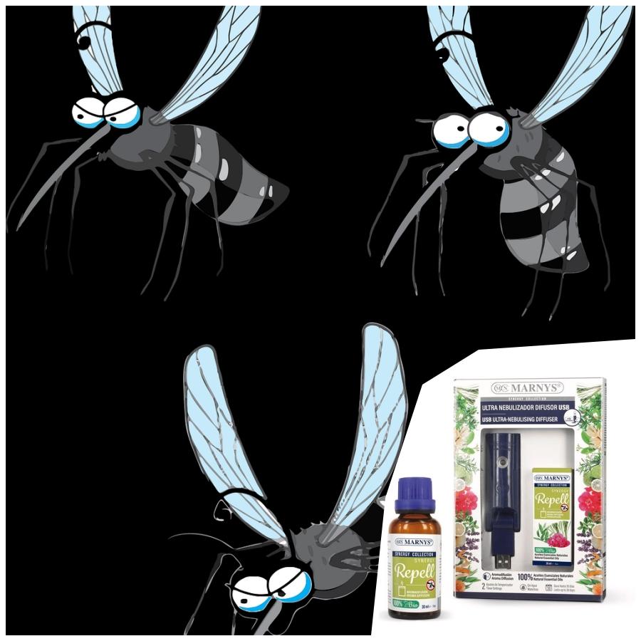 Aceites esenciales para alejar a los mosquitos