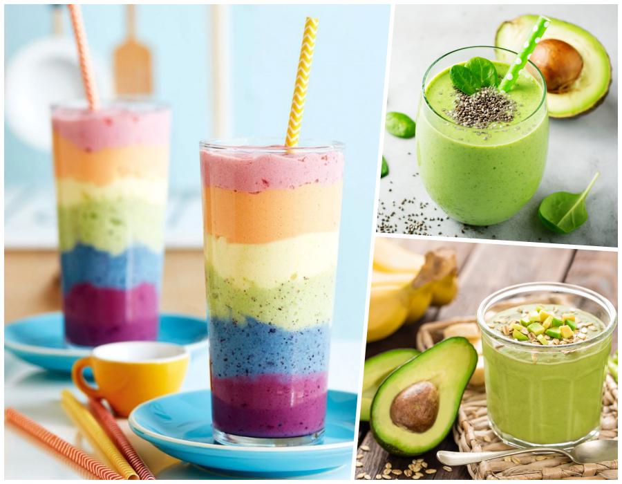 3 recetas de smoothies con aguacate para desayunar como un rey