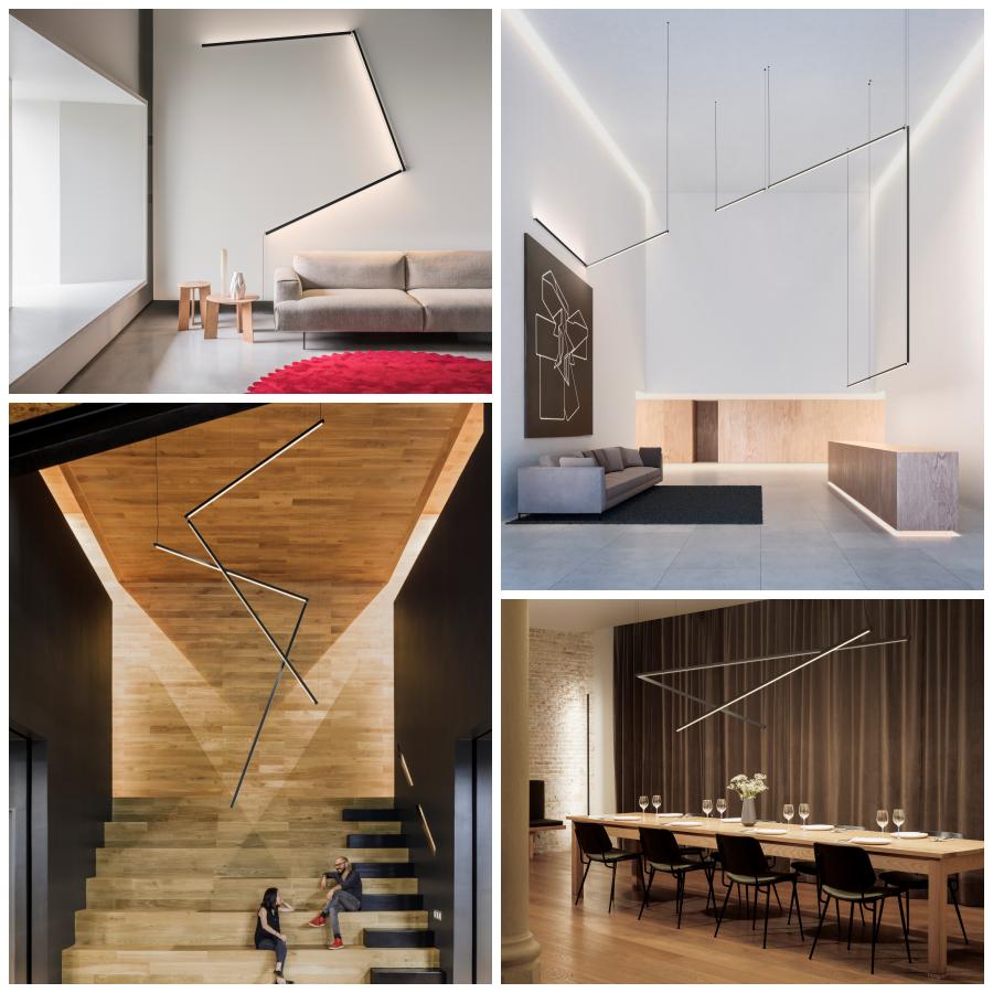 STICKS, una colección que ensambla luz y arquitectura