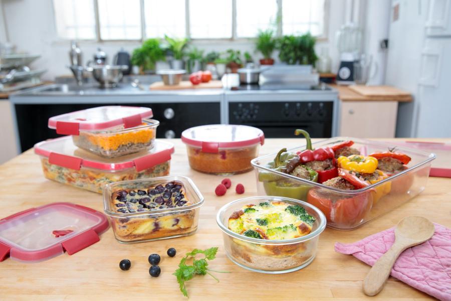 Curver: Línea Smart Cook. Porque tu tiempo vale oro… cocina, congela y calienta en el mismo hermético