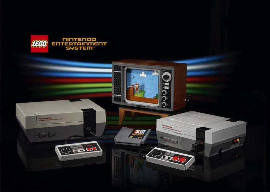 El Grupo LEGO presenta la edición clásica de LEGO® Nintendo Entertainment System