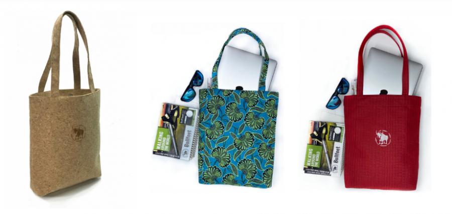 Bolsos fabricados con plástico reciclado de Bullfeet, la última tendencia para un verano más sostenible
