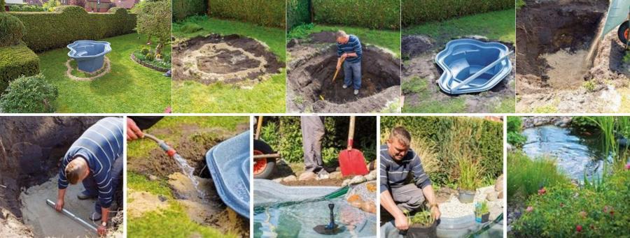 Nueve sencillos pasos hacía tu propio estanque