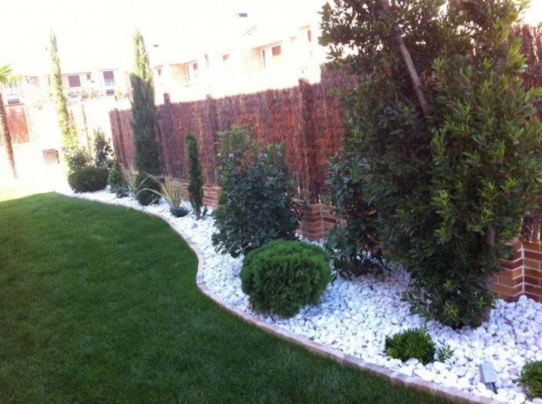 Decoración de jardines con piedras, paso a paso