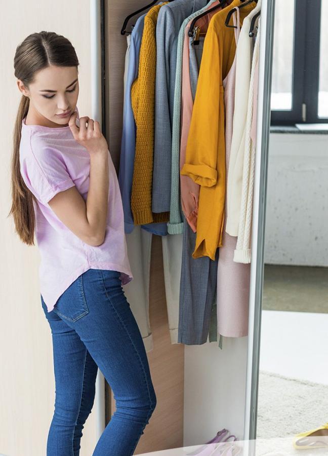 15 consejos para organizar un guardarropa hecho por un profesional