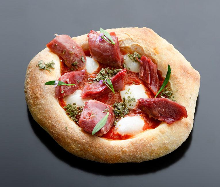 Receta: Pizza de pato