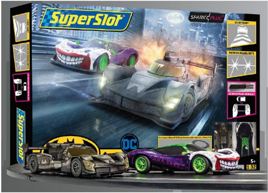 Circuito Batman vs Joker, una novedad de SUPERSLOT