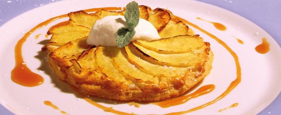 Receta irlandesa de tarta de manzana