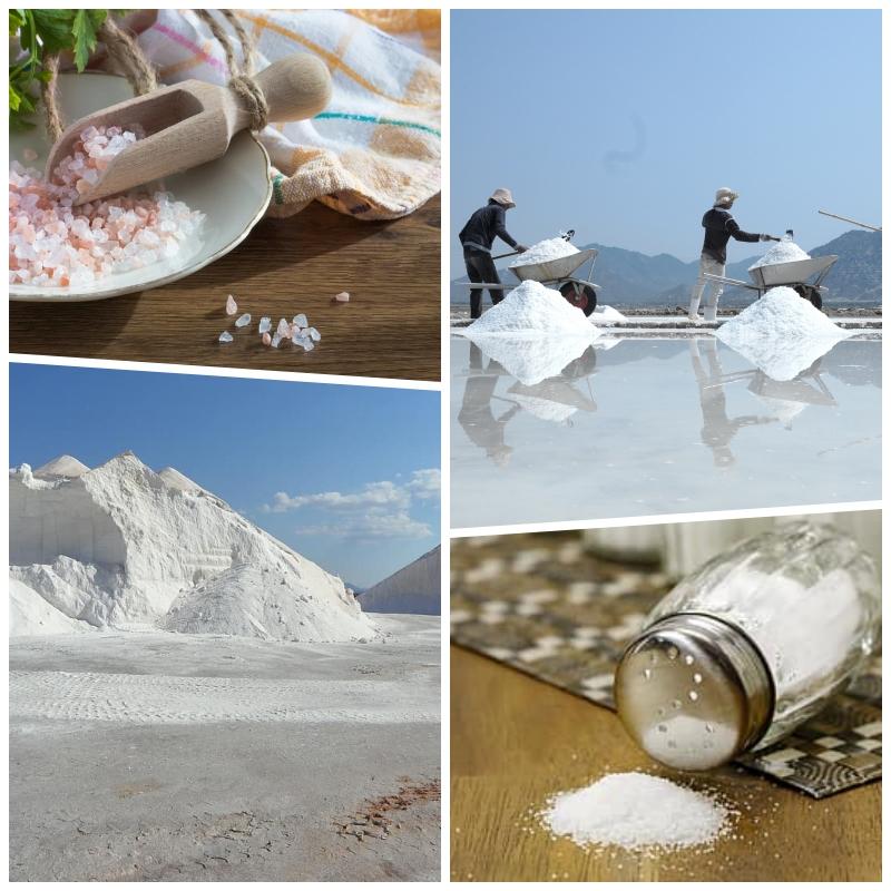 8 tipos de sal y su uso en la cocina