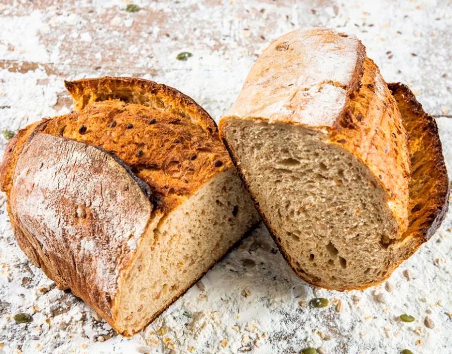 Pan de trigo troceado: el integral que no lo es