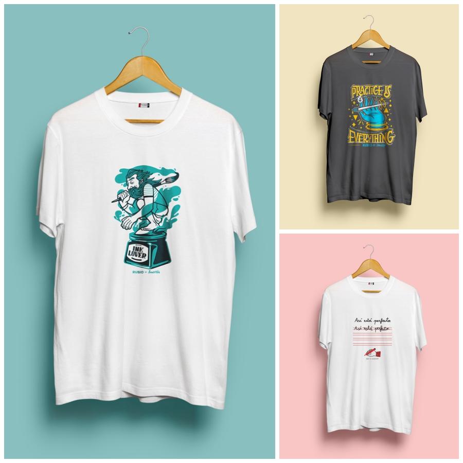 RUBIO crea una edición exclusiva de camisetas con destacados ilustradores