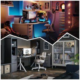 IKEA lanza una colección de muebles y accesorios para gamers en colaboración con ROG
