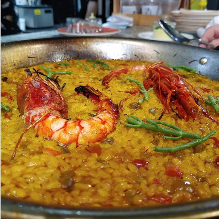 los secretos del chef de Uskar para elaborar una paella