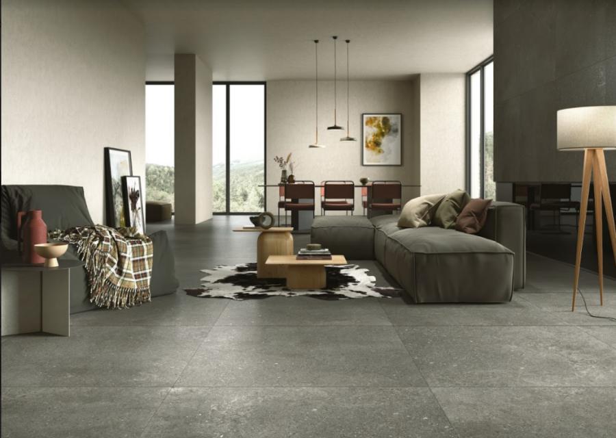 La nueva colección Loft investiga el potencial de la unión de la piedra y el cemento