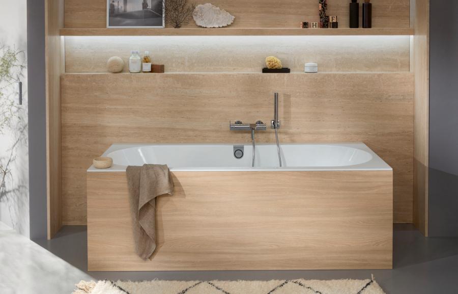 Mantente en forma esta temporada: aumenta tu resistencia con baños calientes y duchas de contraste de Villeroy & Boch.