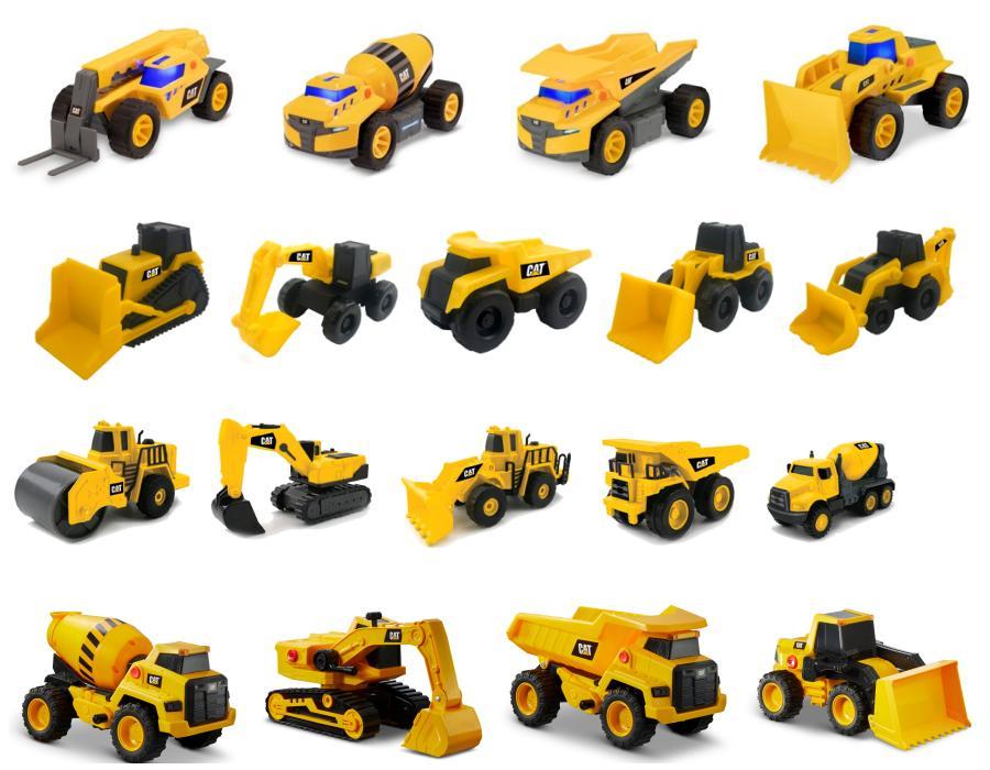 Funrise | Llegan los nuevos vehículos de construcción Cat