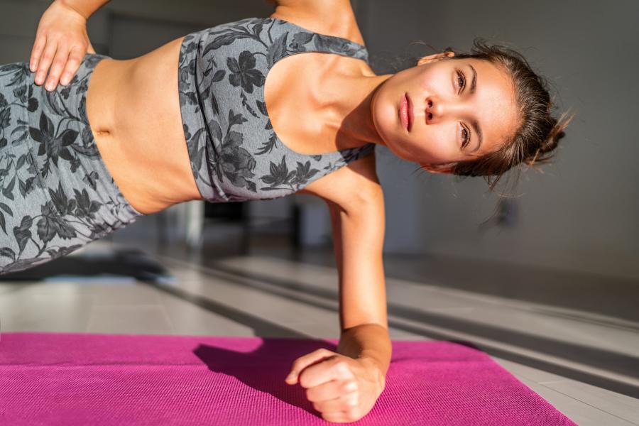 Cómo usar el propio peso corporal para ponerse en forma