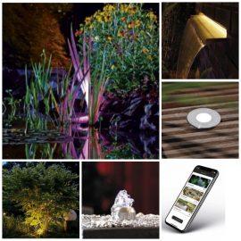 Como iluminar el jardín