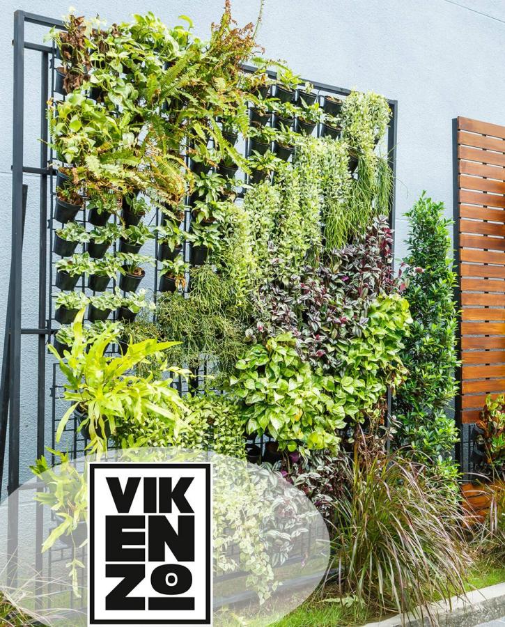 VIKENZO NATURE: Todos los secretos para tener éxito en un jardín verti