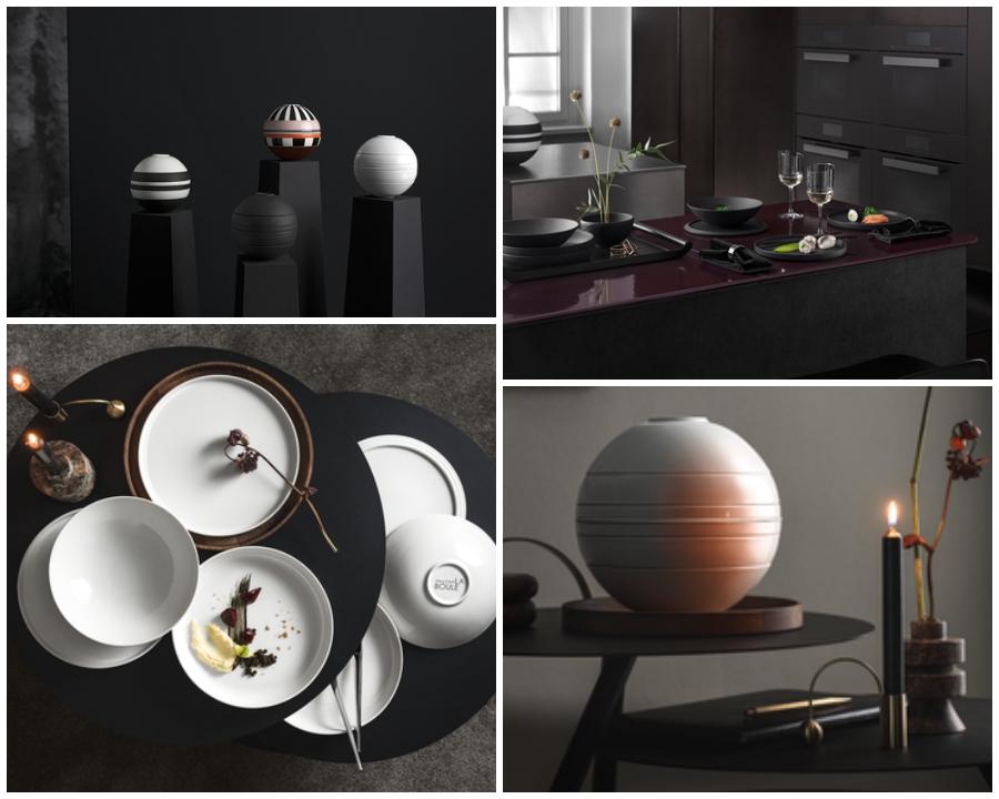 La Boule: un objeto de diseño icónico que se convierte en servicio de mesa apilable.