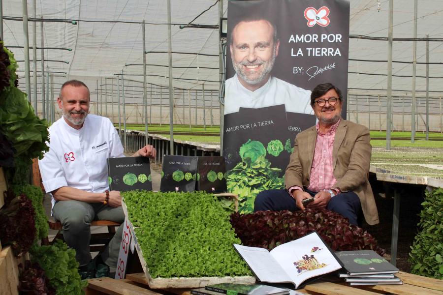 """Primaflor y el chef Rodrigo de la Calle presentan """"Amor por la tierra"""", un recetario de cocina vegetal"""