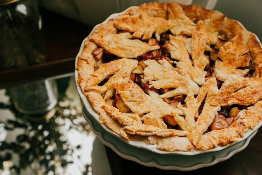 Cómo hacer Pumpkin pie o la tarta de calabaza sin lactosa ideal para el otoño