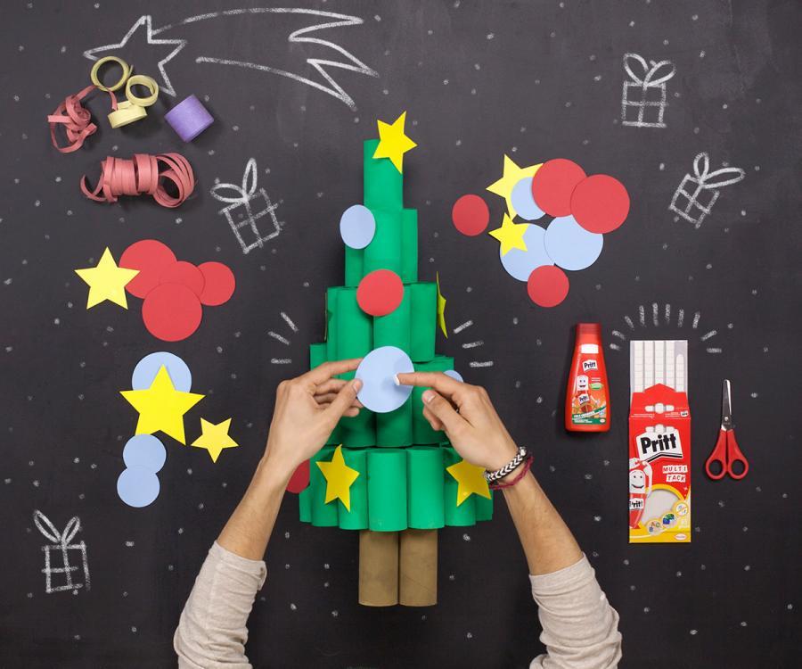#NavidadConPritt. En estas fiestas, haz volar la imaginación y desarrolla la creatividad de los peques desde casa