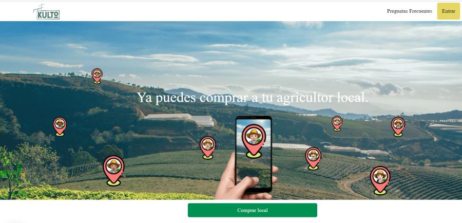 Proyecto Kulto, la plataforma de consumo sostenible que conecta a agricultores y usuarios de proximidad