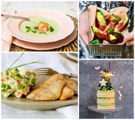 4 recetas con aguacate para celebrar Nochevieja