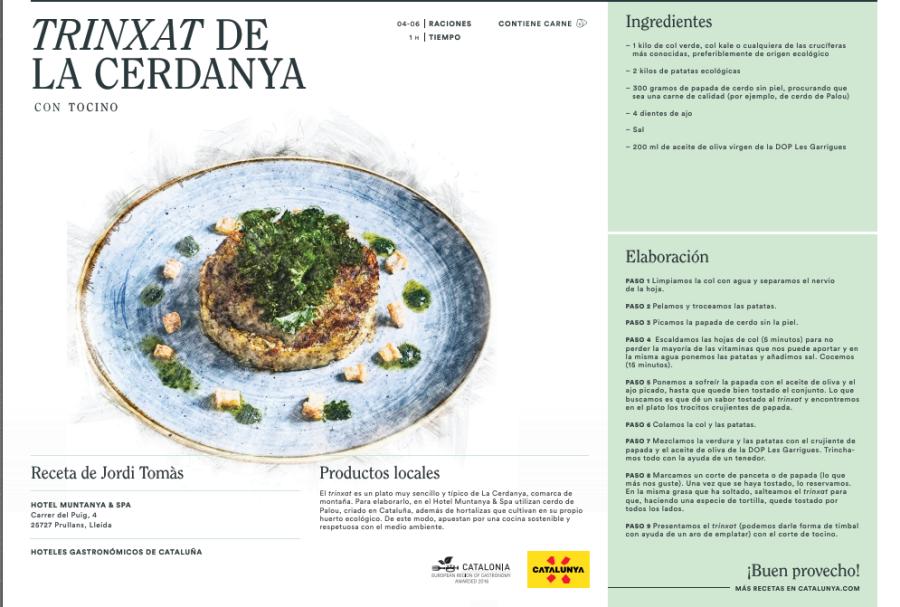 Atrévete a cocinar un buen Trinxat de la Cerdanya!