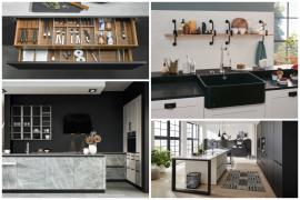 Ideas de diseño en tu cocina basadas en el Black & White