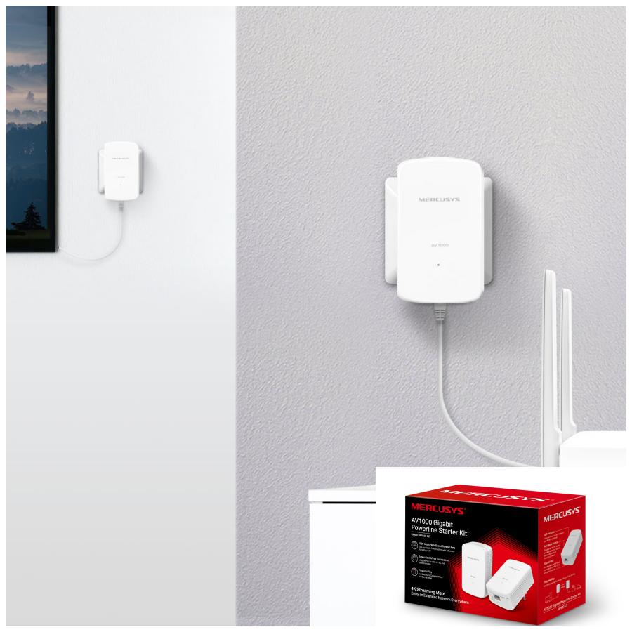 Mercusys® presenta el nuevo Kit Powerline MP510 para eliminar las zonas muertas Wi-Fi dentro del hogar