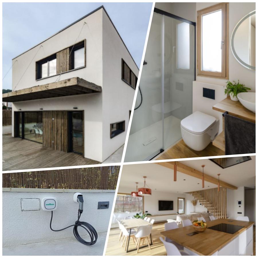 ¿Te imaginas vivir en la casa más sostenible de Europa?