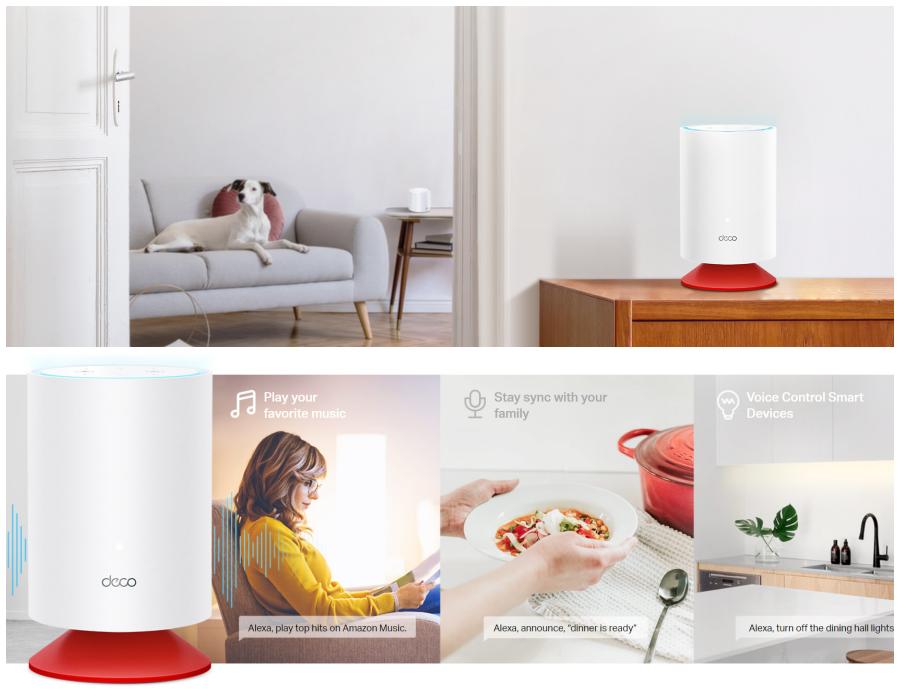 TP-Link lanza Deco Voice X20, el primer sistema Mesh WiFi 6 del mundo que incorpora Alexa