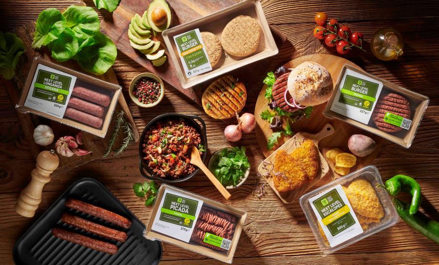 Lidl vuelve a innovar en el sector y amplía su línea de productos de 'carne que no es carne'