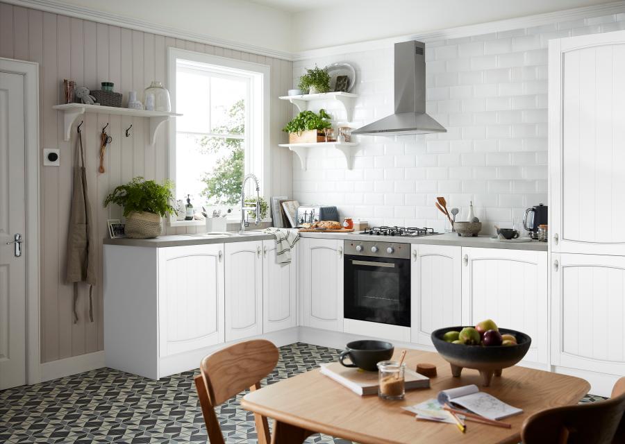 Cinco trucos para ganar espacio en cocinas pequeñas
