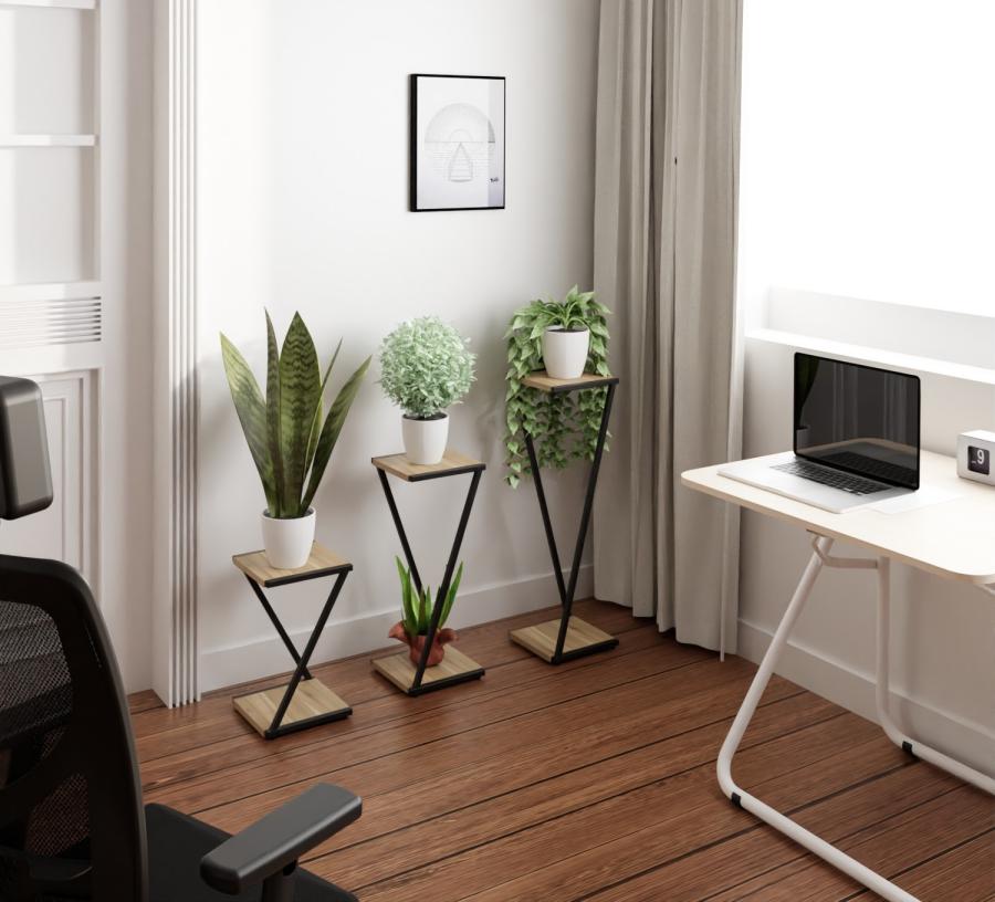 Jardineras, un mueble indispensable para mejorar las condiciones del teletrabajo
