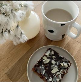 Mokkapalat: los populares brownies finlandeses.