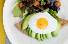 Un desayuno sabroso y saludable