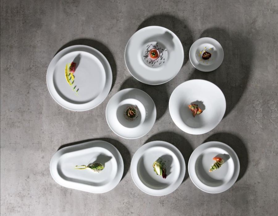 Gotas, la porcelana de Ximo Roca Diseño que evoca la lluvia